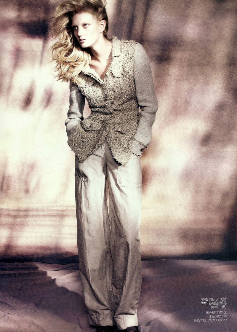 Vogue China   Patricia van der Vliet by Lachlan Bailey