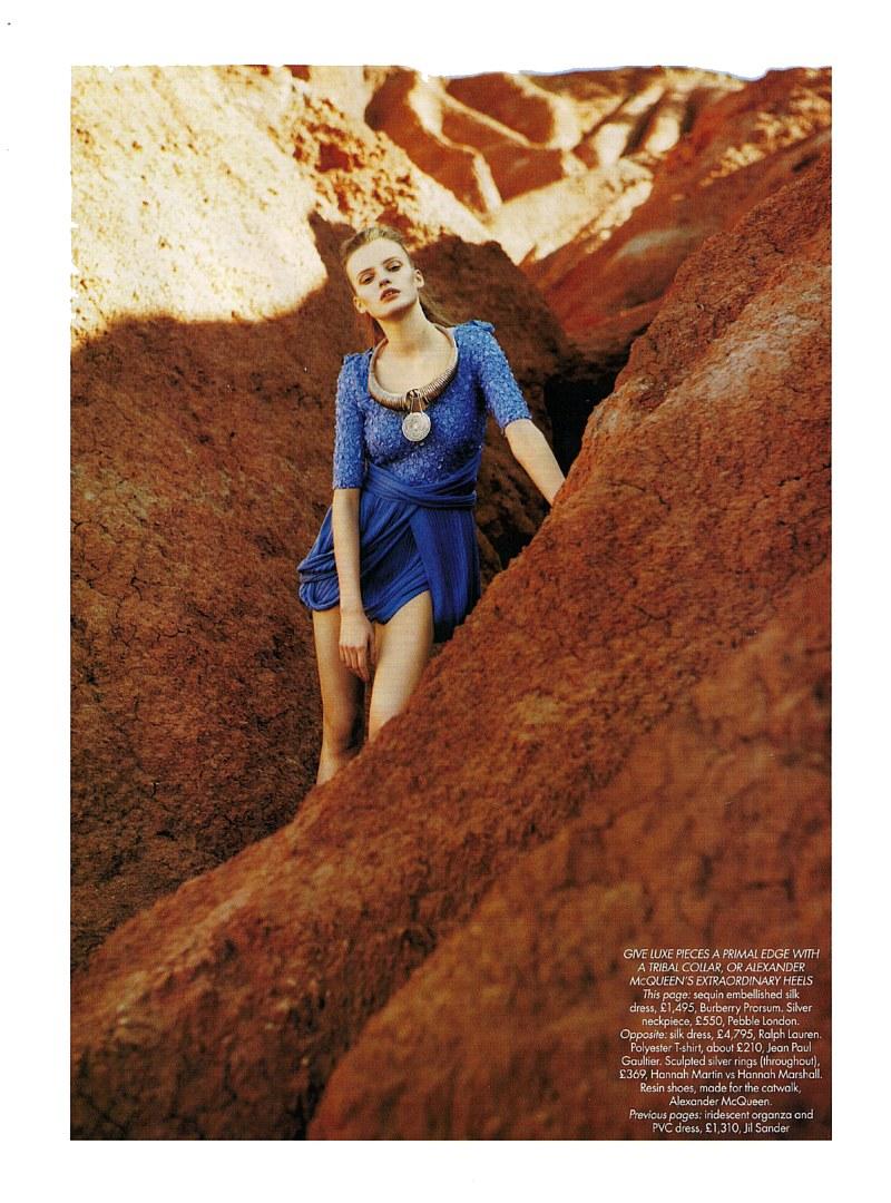Blue Planet   Anastasia Kuznetsova by Mark Pillai