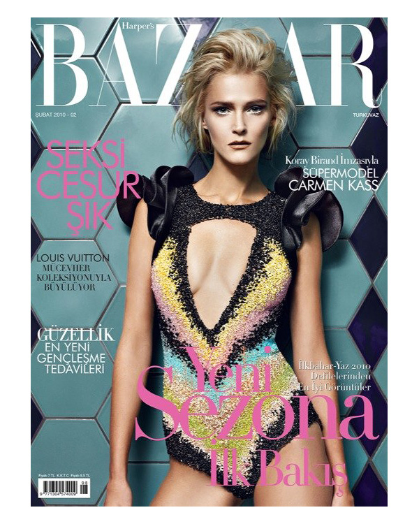Harper's Bazaar Turkey | Carmen Kass by Koray Birand