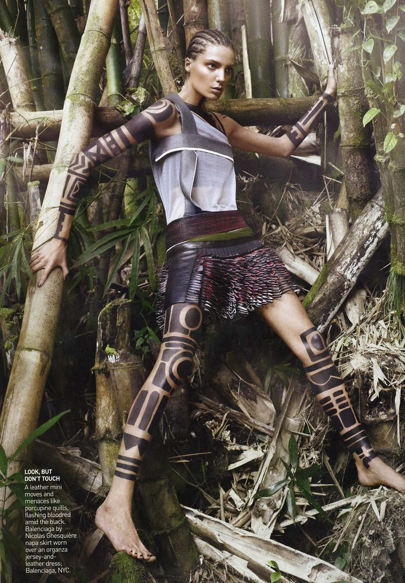 Vogue US March '10 | Daria Werbowy by David Sims