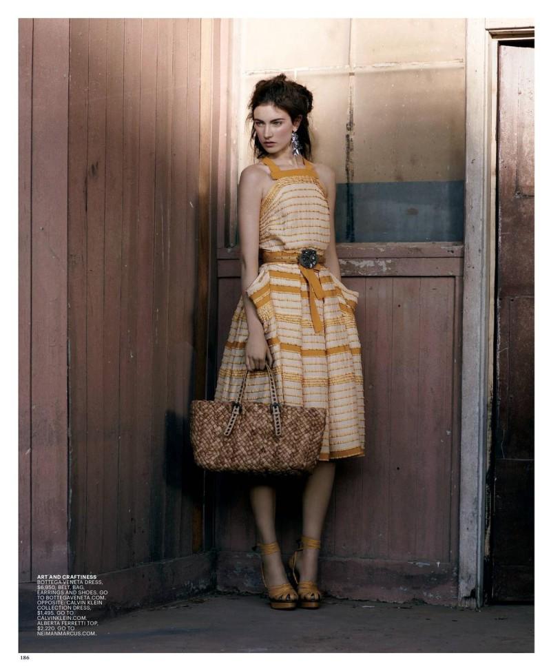 Jacquelyn Jablonski by Mark Segal | T Spring 2010