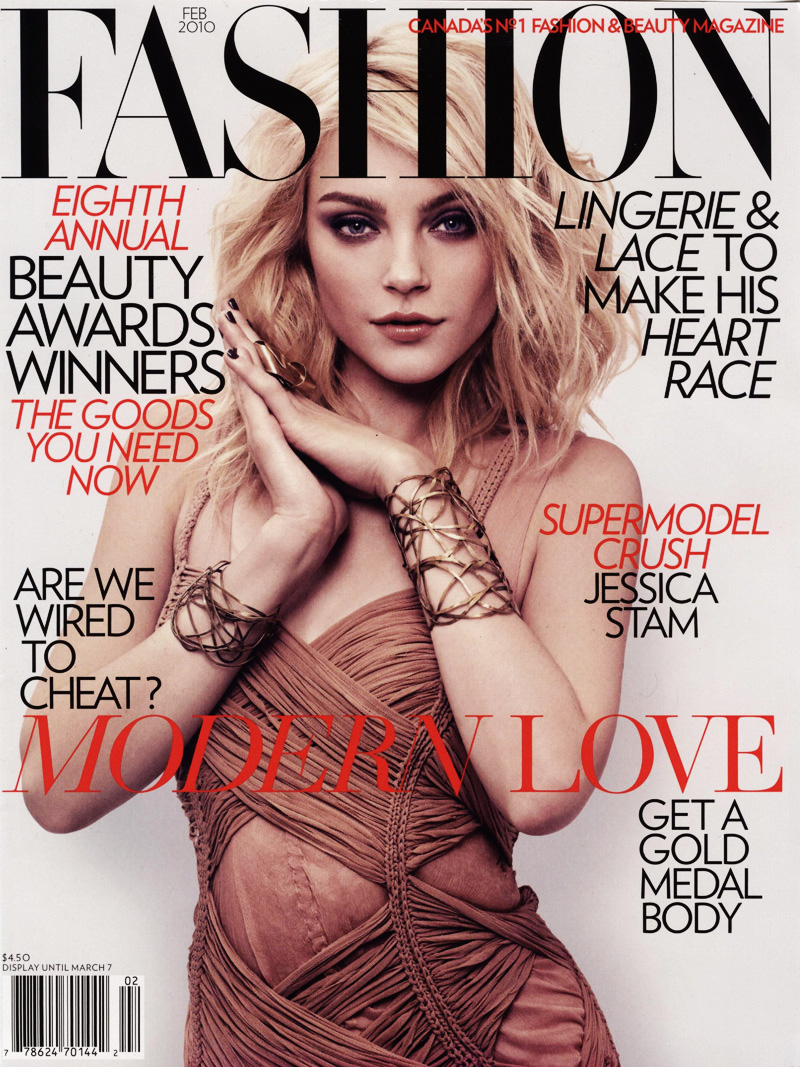 Fashion Feb '10 | Jessica Stam by Derek Kettela