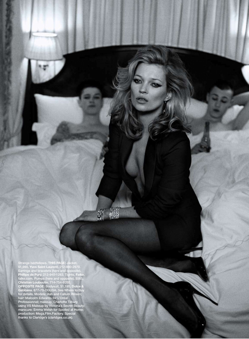 Kate the Great | Kate Moss by Peter Lindbergh