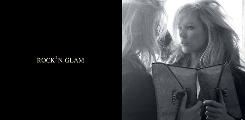 Kate Moss for Longchamp | Kate Moss by David Sims