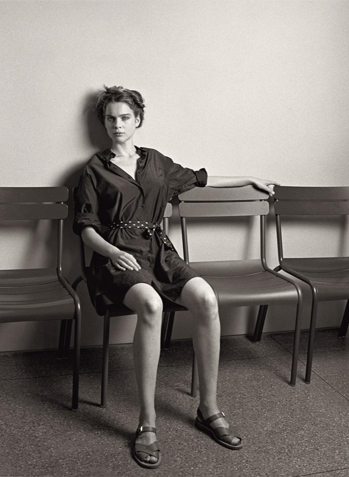 Margaret Howell Spring/Summer 2010 Campaign | Kim Noorda by Venetia Scott