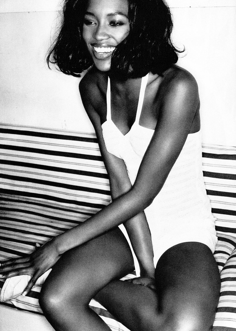 The Supermodel Experience | Naomi Campbell by Mario Testino for Glamour France July 1994