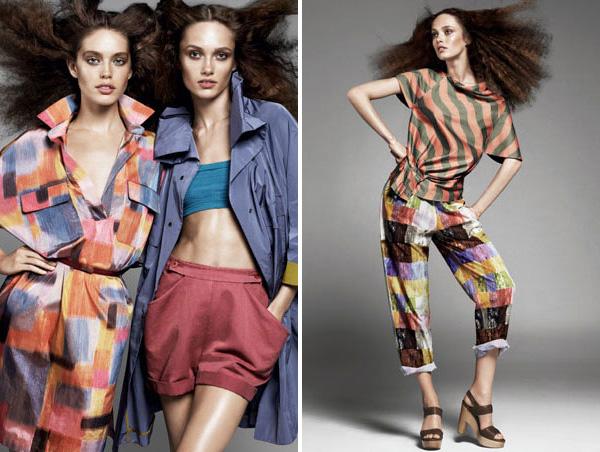 Nicole Farhi Spring/Summer 2010 Campaign | Emily DiDonato & Karmen Pedaru by Daniel Jackson