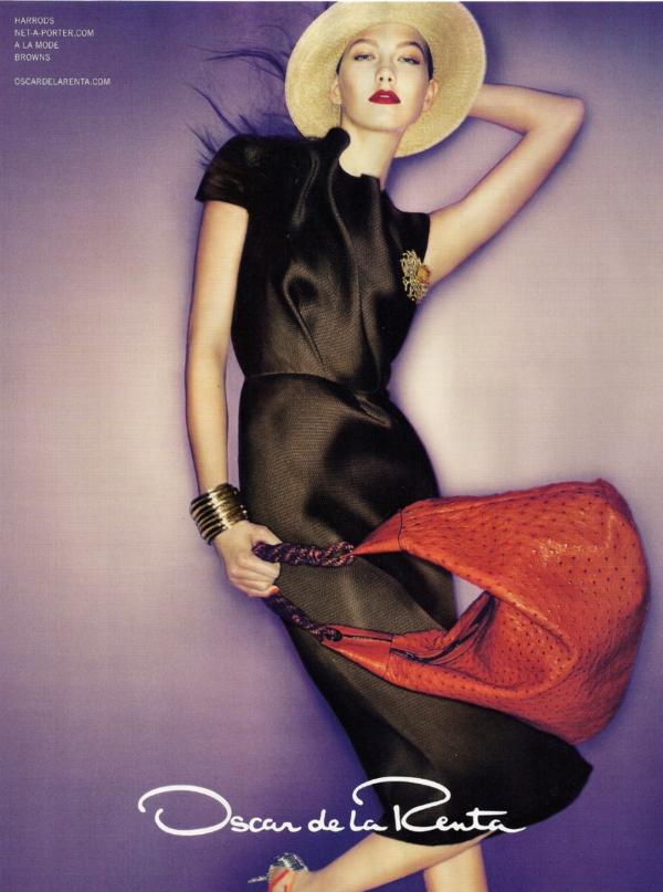 Oscar de la Renta S/S '10 Campaign Preview | Karlie Kloss