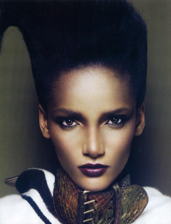 Vogue Paris March   Rose Cordero by Mert & Marcus