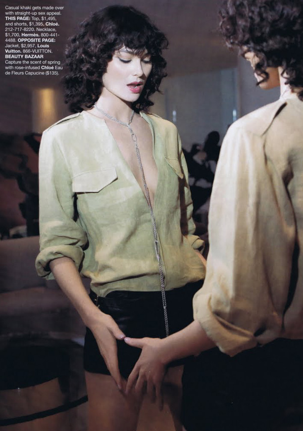 What's Next | Shalom Harlow by Glen Luchford