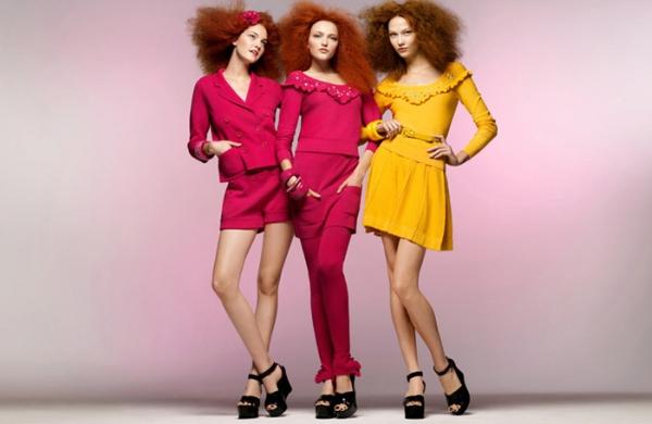 Sonia Rykiel for H&M Spring 2010 Campaign | Karlie, Vlada & Caroline by Sølve Sundsbø