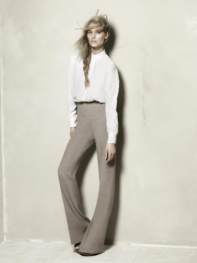 Zara Spring 2010 Campaign | Toni Garrn