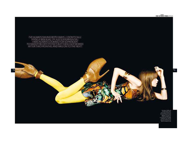 Abbey Lee Kershaw by Ben Hassett | The Sunday Times UK Style Magazine