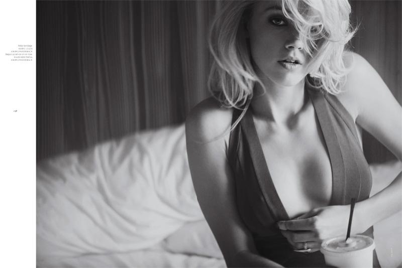 Amber Heard by Guy Aroch | French Revue de Modes Spring 2010