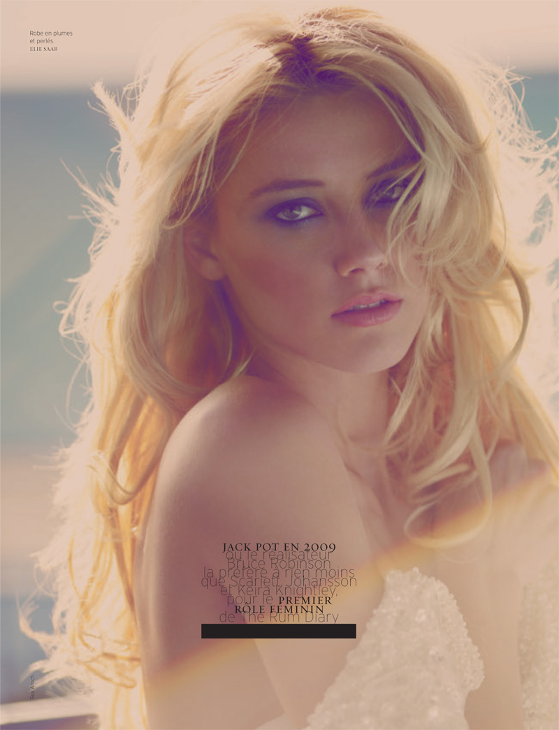 Amber Heard by Guy Aroch | French Revue de Modes Spring 2010