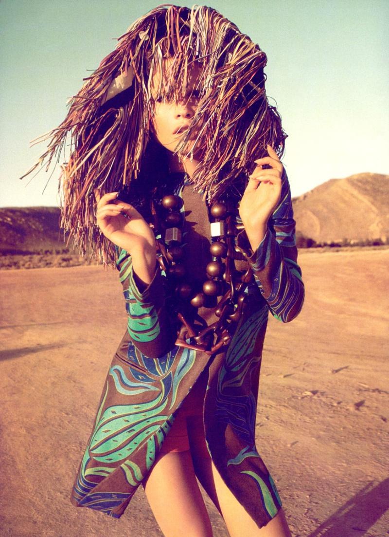 Morning Beauty | Behati Prinsloo by Camilla Akrans