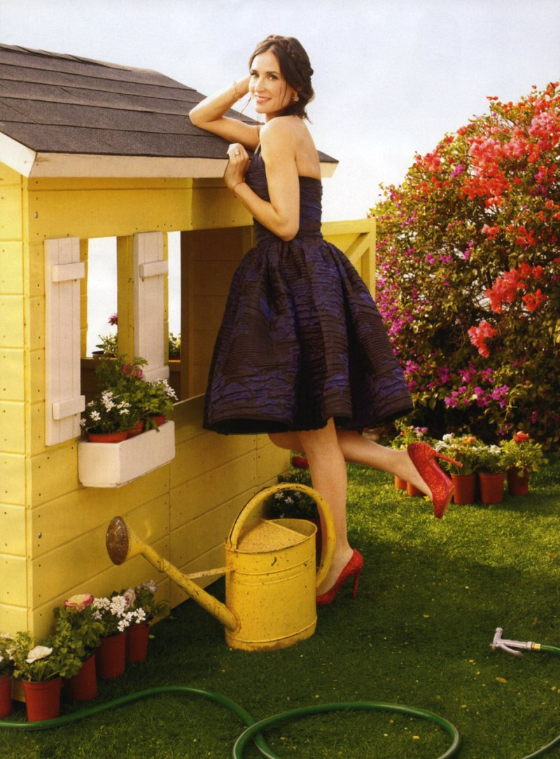 Demi Moore by Mark Seliger | Harper's Bazaar US April 2010