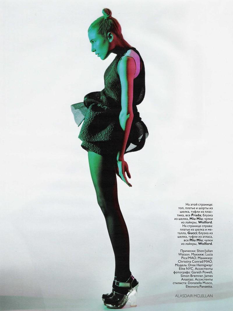 Dree Hemingway by Alasdair McLellan | Vogue Russia