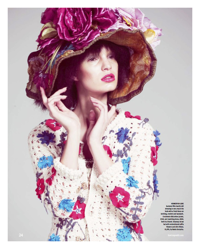 "Nicola Haffmans by Andrew Yee | The FT--How To Spend It Magazine ""Key Looks for Spring"""