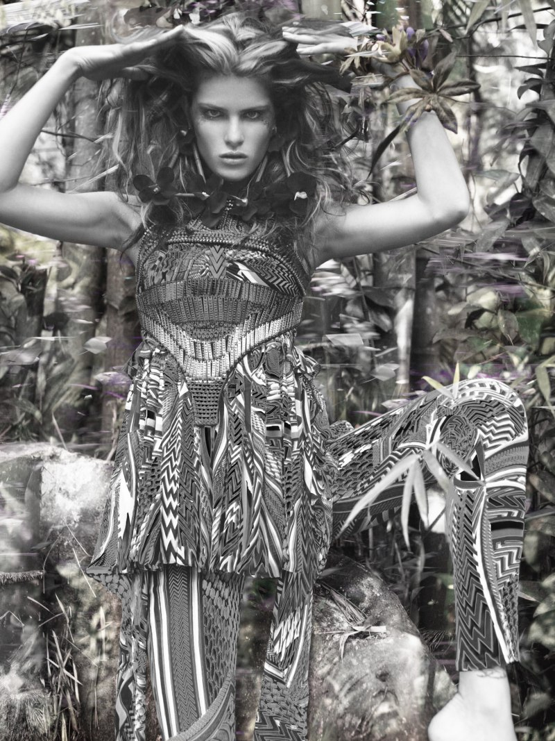 The Eco Warrior | Isabeli Fontana by Richard Bush for i-D