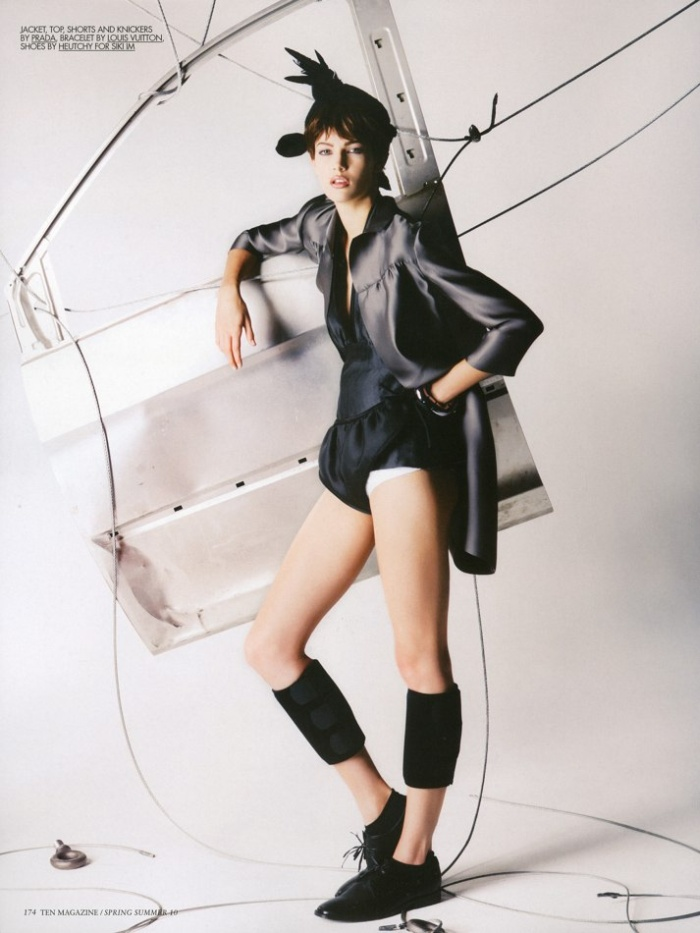 Kendra Spears by Knoepfel & Indlekofer | Ten Magazine Spring 2010