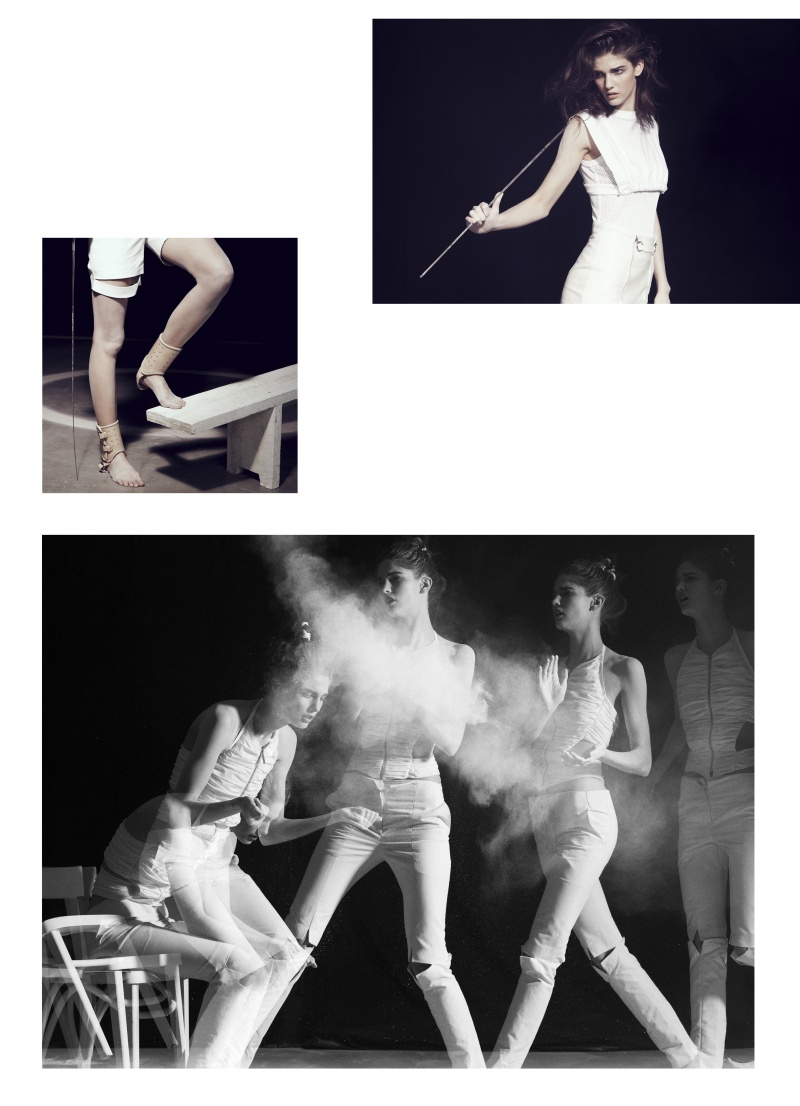 Kendra Spears by Lachlan Bailey   The Last Magazine Spring 2010