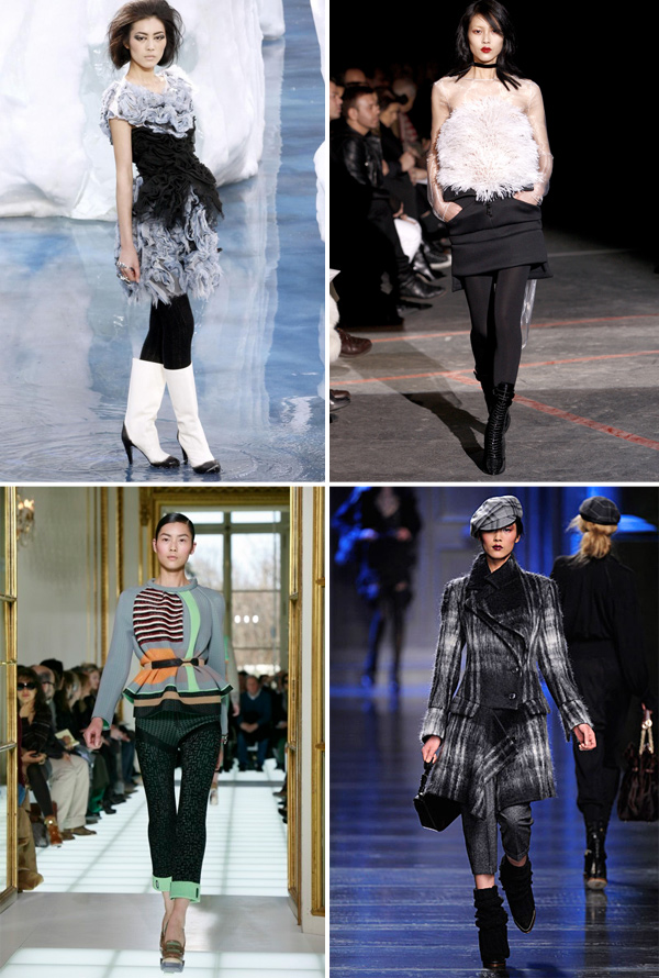 Model of the Month | Liu Wen on the Runway