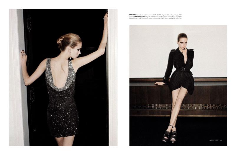 Mirte Maas by Angelo Pennetta   Bergdorf Goodman Spring 2010 Catalogue