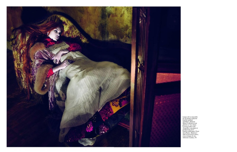 Natalia Vodianova by Mert & Marcus | Vogue Paris April 2010