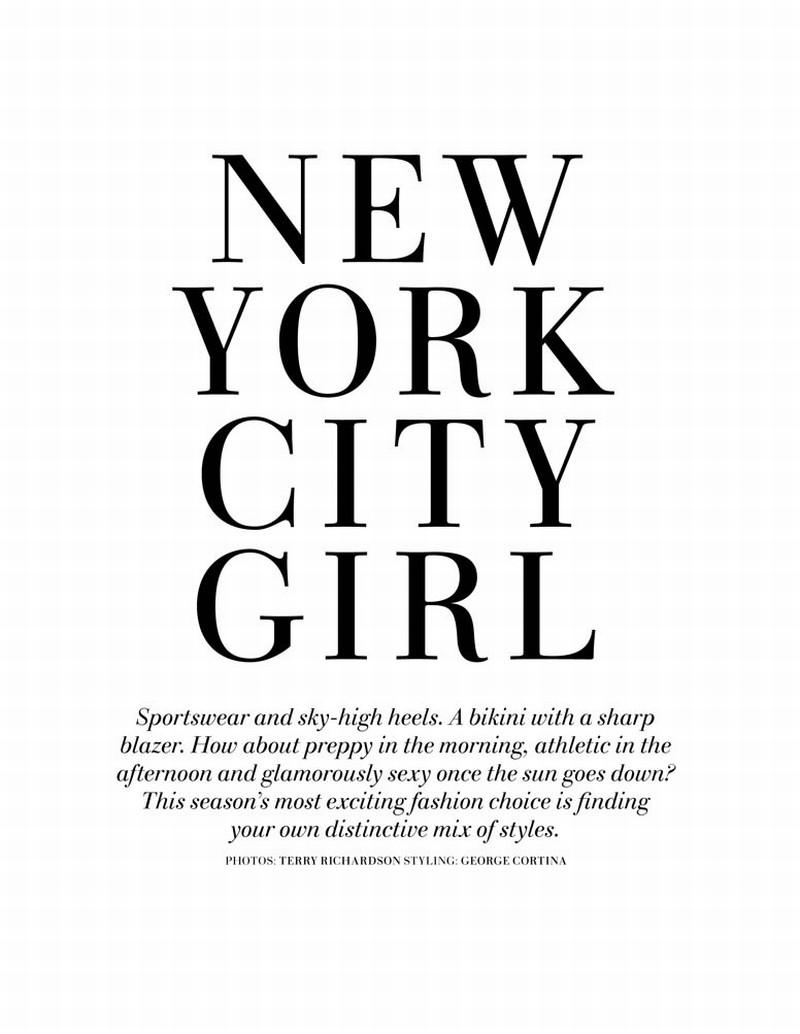 Natasa Vojnovic by Terry Richardson | H&M Magazine