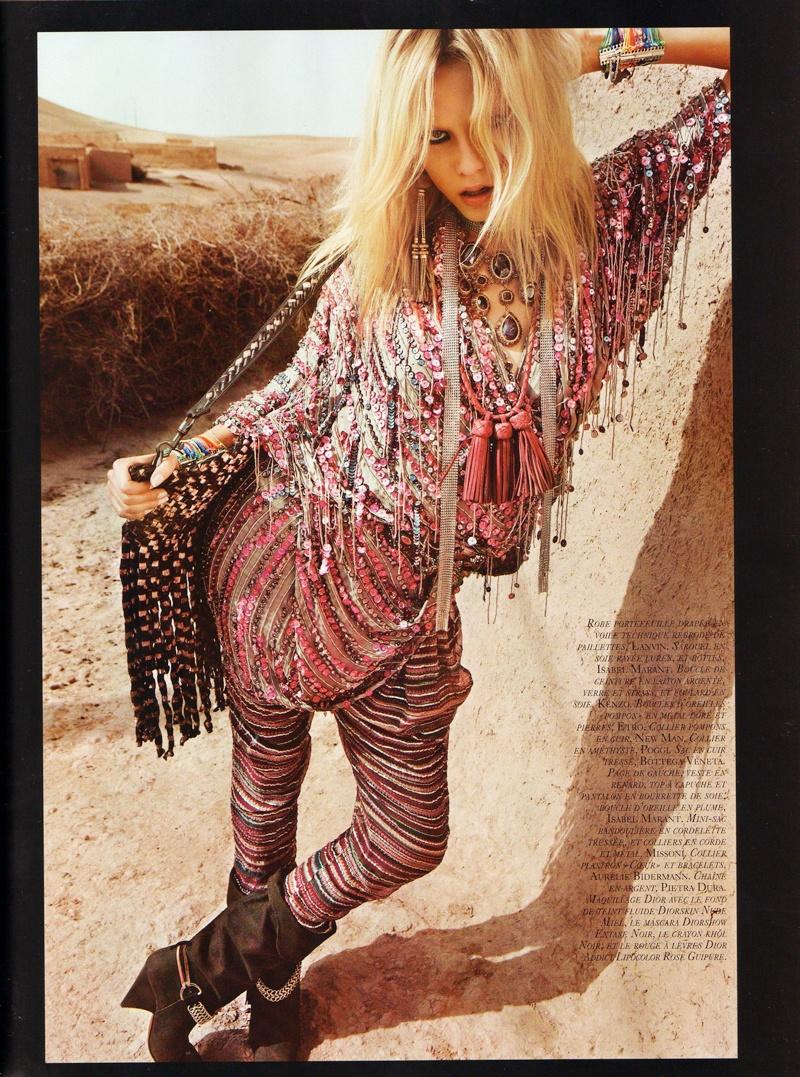 Natasha Poly by Inez & Vinoodh | Vogue Paris April 2010