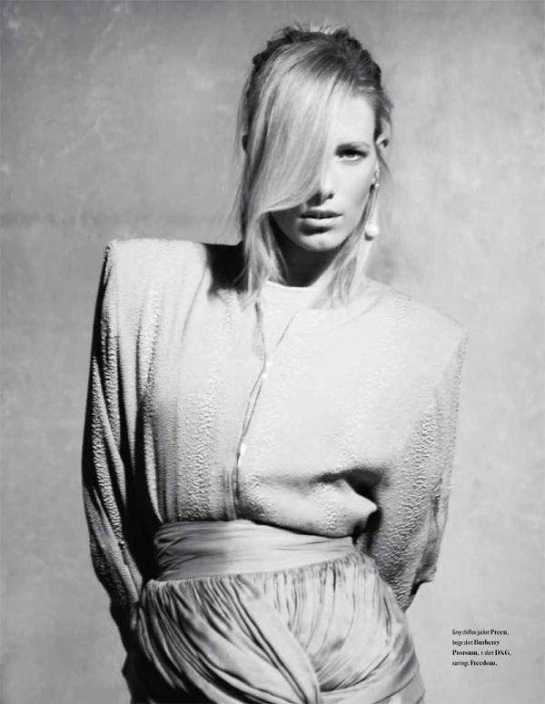 Sandy | Alyona Osmanova by Stefan Zschernitz for Bon International