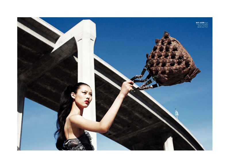Model of the Month | Liu Wen for Bergdorf Goodman Spring 2010 Catalogue