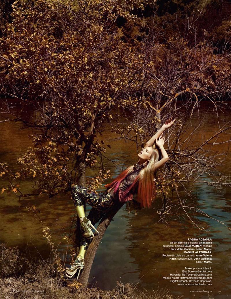 Nicola Haffmans by Sylvie Malfray | Harper's Bazaar Romania