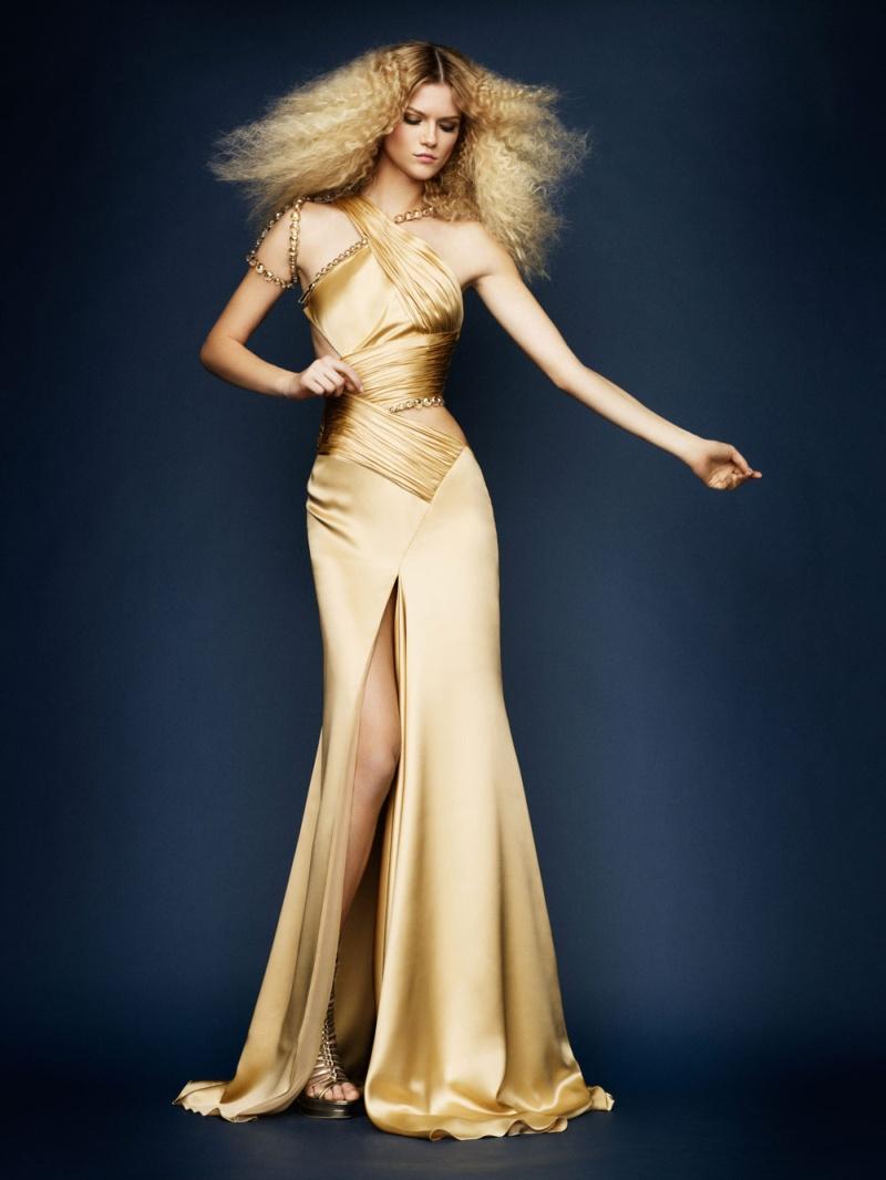 Atelier Versace Spring 2010 Lookbook | Kasia Struss