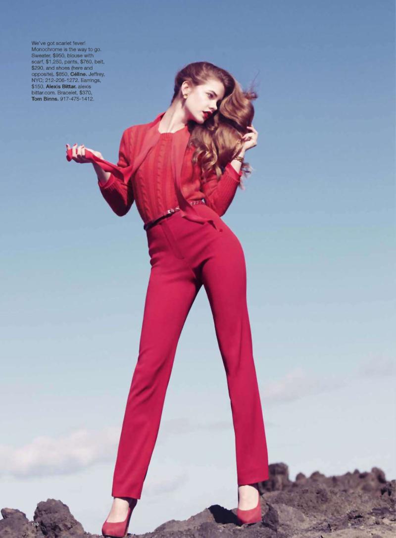 Barbara Palvin by Benjamin Alexander Huseby for Harper's Bazaar US May 2010