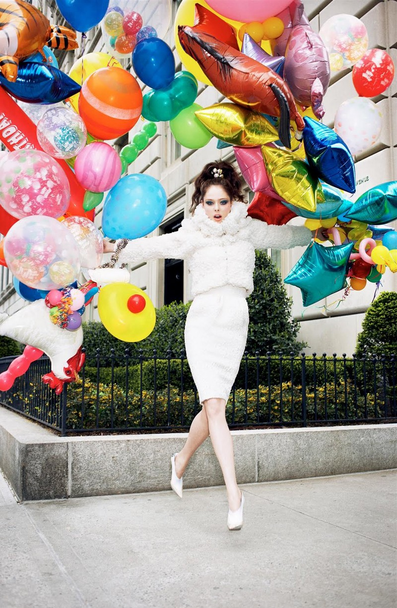 Morning Beauty | Coco Rocha by Arthur Elgort