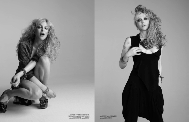 Courtney Love by David Roemer for Vanidad May 2010