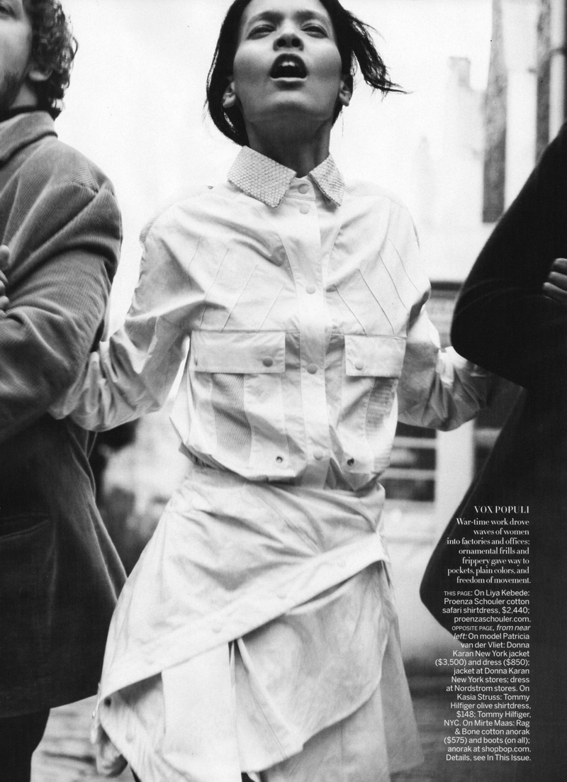The American Experience by David Sims | Vogue US May 2010