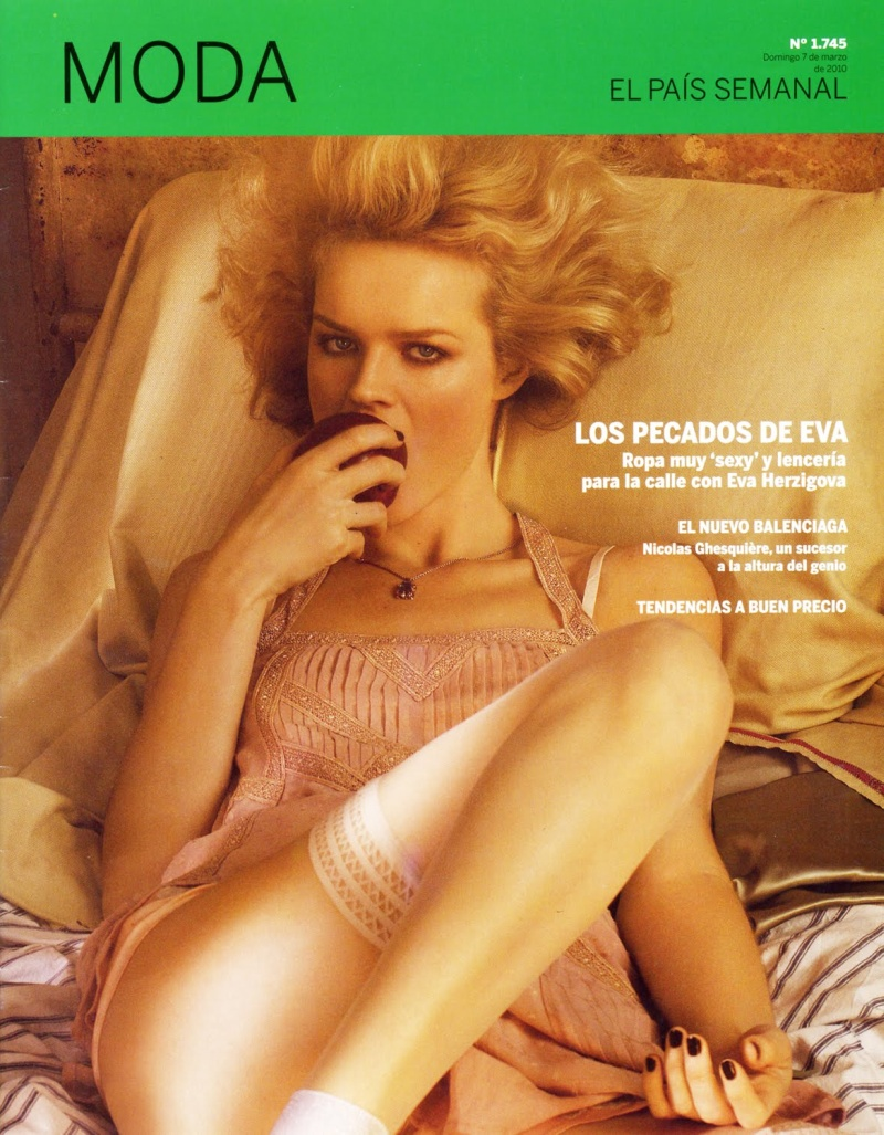 Eva Herzigova by Giampaolo Sgura | El Pais Moda March 2010