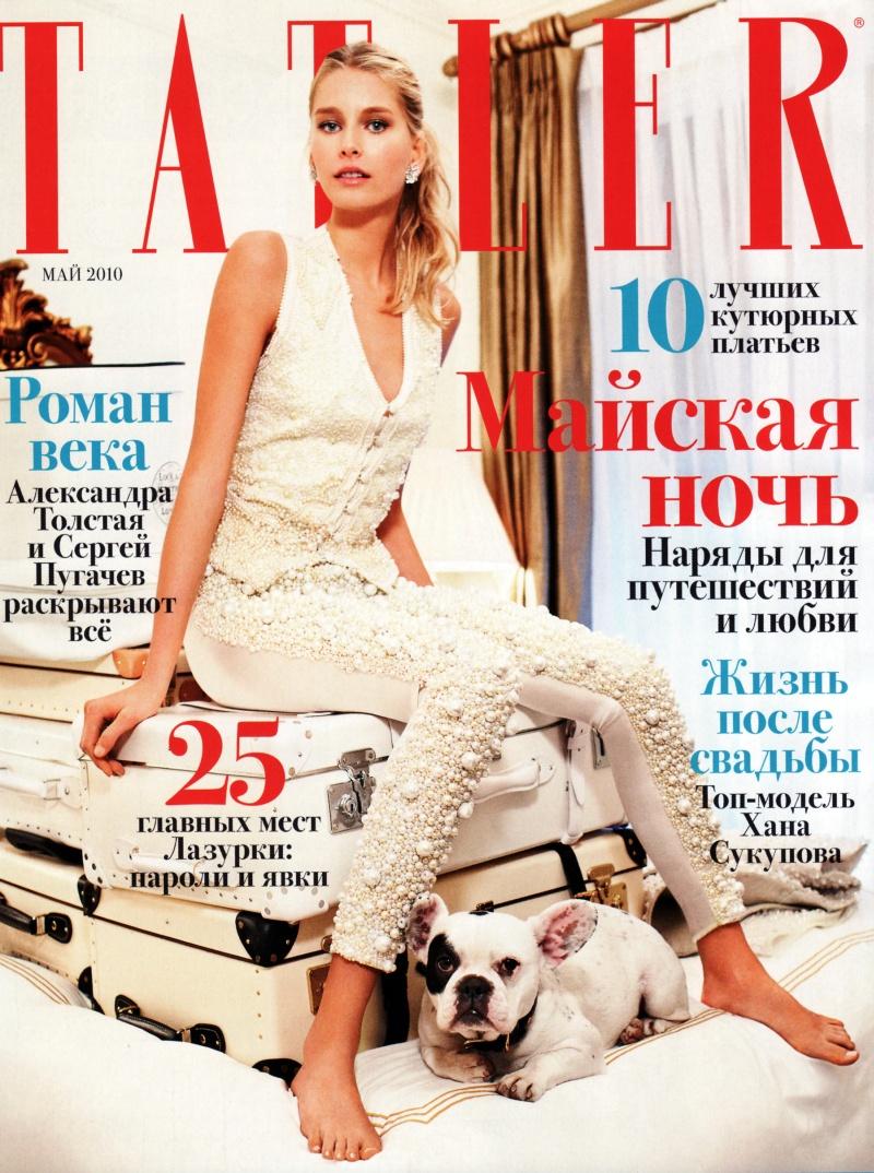 Hana Soukupova by Arthur Elgort | Tatler Russia May 2010