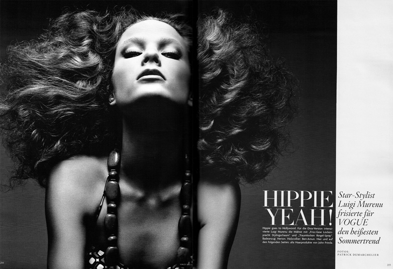 Hippie Yeah! by Patrick Demarchelier for Vogue Germany May 2010