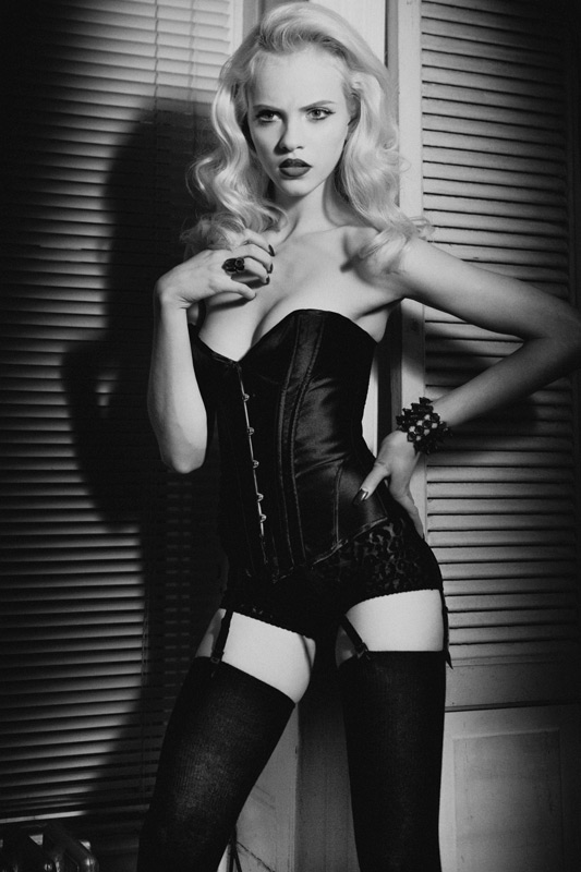 Ginta Lapina by Hugh Lippe | Exit Magazine Spring 2010