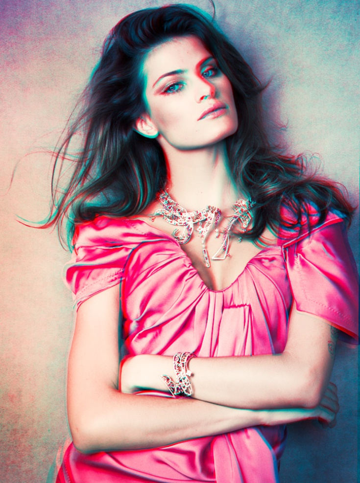 Isabeli Fontana by Jacques Dequeker | Vogue Mexico April 2010