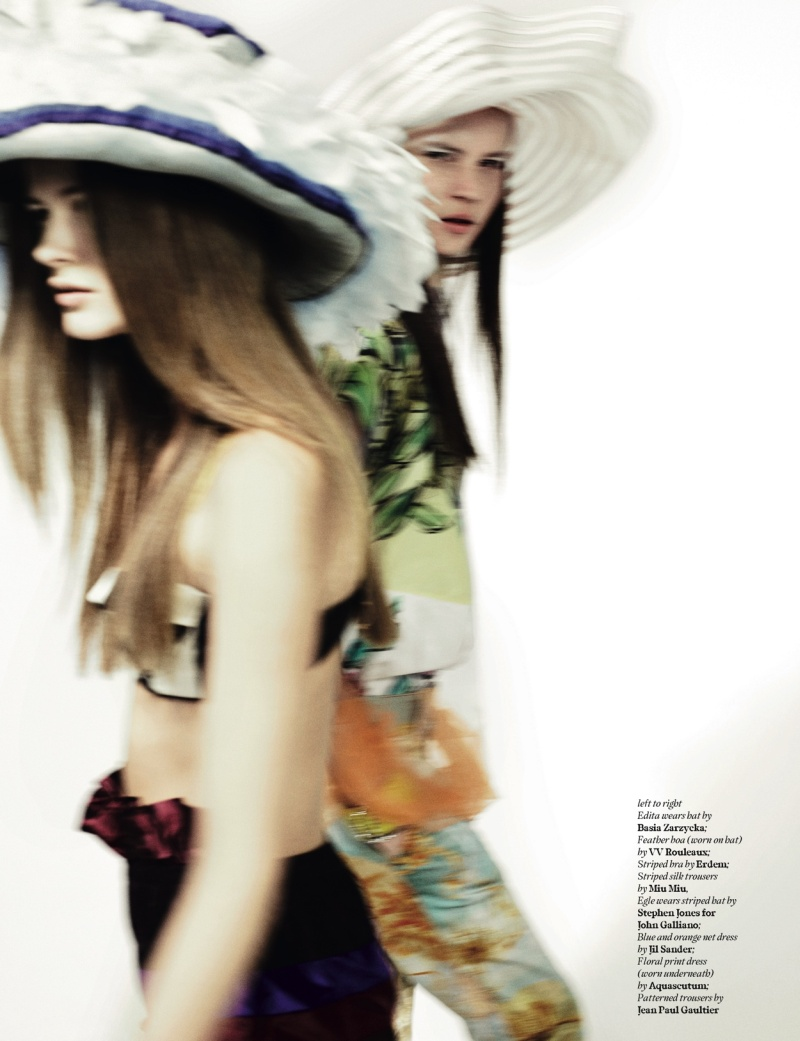 Spring in Bloom | Josh Olins for AnOther Spring 2008