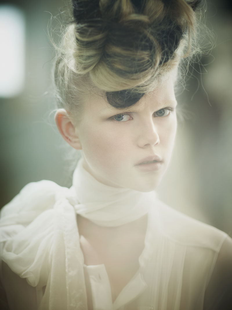 Anne Sophie Monrad by Karel Kuehne in La Muse   Quality Magazine #6 April 2010