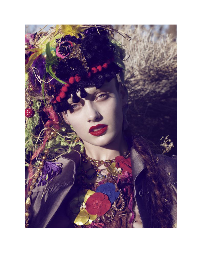 Karmen Pedaru by Catherine Servel in The Wild Frontier | The Sunday Telegraph