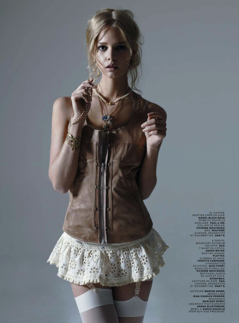 Marloes Horst by Sol Sanchez in Viva Marloes | Jalouse March 2010