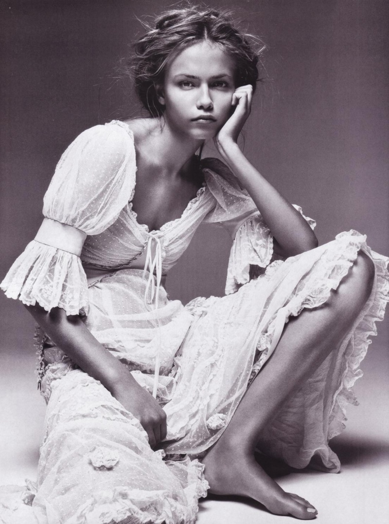 Morning Beauty | Natasha Poly by Patrick Demarchelier