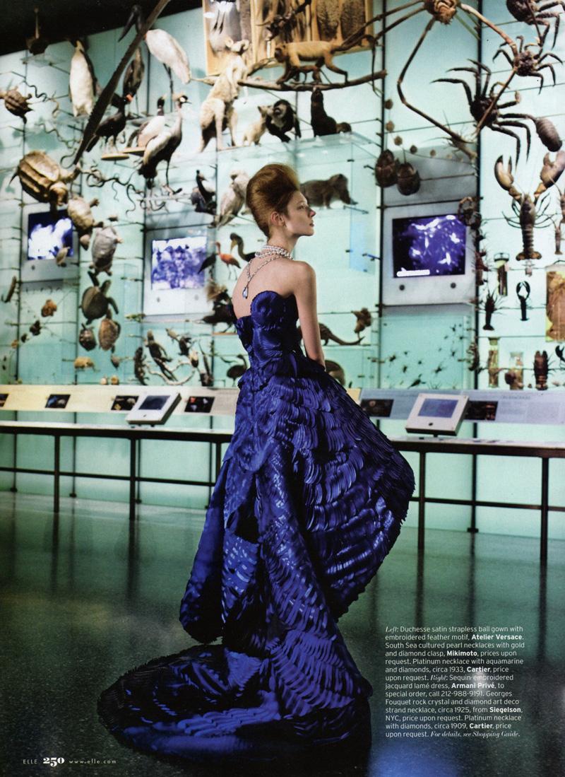 Olga Sherer by Carter Smith | Elle US May 2010